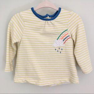 Baby Boden 🌈 Appliqué Long-Sleeve Shirt